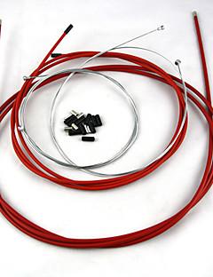 בלמים וחלקים אופניים - רכיבה על אופניים - כבל בלימה/אחרים ( שחור/אדום/כחול/לבן , סגסוגת אלומיניום/גומי/פלדה )
