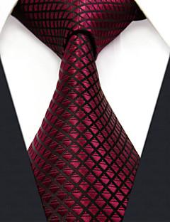 Krawat - Dla mężczyzn - Do biura - Rayon