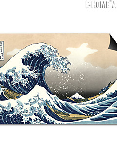 E-HOME® Magnetic Print Replaceable Art Sea Wave Decorative Painting Multi Style Optional