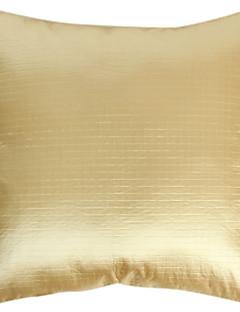 gaufrage carrés décoration coussins coussin bleu mode couverture ivoire