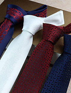 Hombre Corbata Vintage / Bonito / Fiesta / Trabajo / Casual-Poliéster Estampado Todas las Temporadas