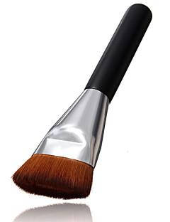 1 Pennello per correttore / Pennello per polveri / Pennello da fondotinta / Contour Brush Capelli sinteticiProfessionale / Viaggi / Coppa