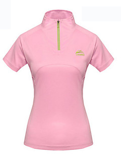 WEST BIKING® Female Models Cool Breathable Sports Casual Short-Sleeved Solid Color T Drying