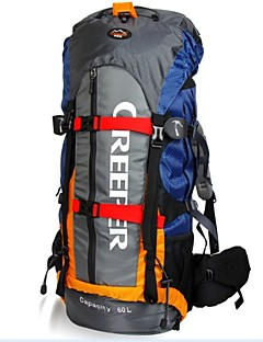 60 L Hiking & Backpacking Pack / Daypack / Cycling Backpack / Rucksack Camping & Hiking / Climbing / Traveling OutdoorWaterproof /