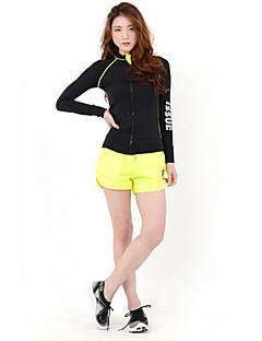 Women's Long Sleeve Running Jacket Tops Compression Lightweight Materials Sunscreen Sweat-wicking Spring Summer Fall/Autumn WinterSports