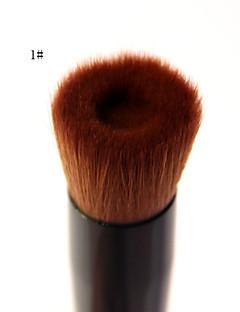 1 Pennello per cipria / Pennello per correttore / Pennello per polveri / Contour Brush Capelli sinteticiProfessionale / Ecologico /