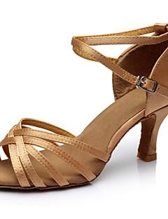 Latin - Pantofi de dans (Negru / Maro / Argintiu / Auriu / Leopard / Alte) - Personalizat - Damă