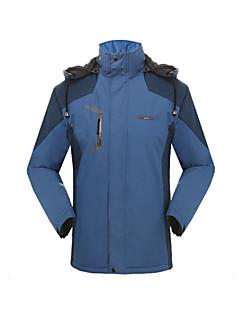 Hiking Softshell Jacket Unisex Waterproof / Thermal / Warm / Windproof / Wearable Winter TeryleneGreen