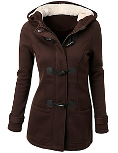 Women's Fashion Hooded Fleece Thicken Outerwear More Colors