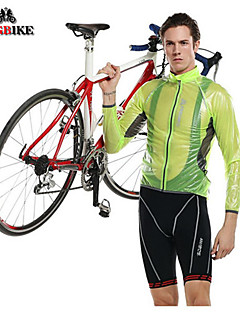 KINGBIKE® Cycling Jacket Men's Long Sleeve BikeWaterproof / Breathable / Ultraviolet Resistant / Rain-Proof / Anti-Eradiation / Wearable
