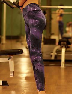 Yoga Pants Fundos / Calças / Meia-calça / Leggings Respirável / Elástico / Macio Alto Stretchy Wear Sports Mulheres OutrosIoga / Pilates