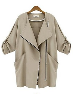 Damen Trench Coat  -  Leger ¾-Arm Andere