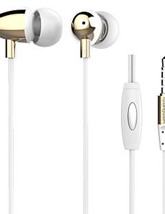 Langsdom M298 Deep Bass Clear Voice Earphone Metal In-Ear with Mic 3.5mm Headphone