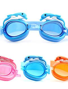 Made In China плавательные очки Детские Противо-туманное покрытие / Водонепроницаемый / Регулируемый размер Ацетат Акрилрозовый / синий /