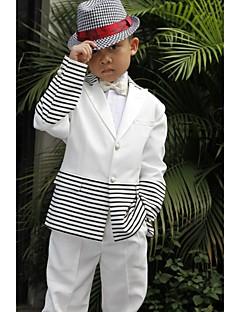 ポリエステル リングベアラースーツ - 5 小品 含まれています ジャケット / シャツ / パンツ / カマーバンド / 蝶ネクタイ