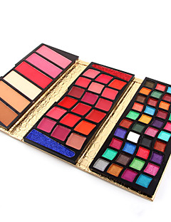 66 Colors 5 in1  40 Eyeshadow Palette  18 Creamy Lipgloss 3 Blusher 3 Face Powder 2 Creamy Eyeshadow Makeup Palette