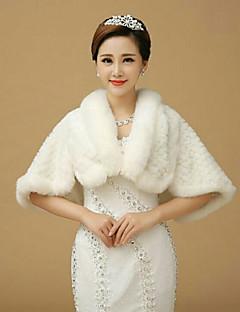 Sleeveless Wedding / Party/Evening Imitation Cashmere Capelets Bridal Wraps/ Shawls