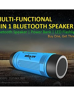 Bluetooth Speaker/ Portable Power Bank/ LED/ Calling Answer/ TF Stereo 5 IN 1