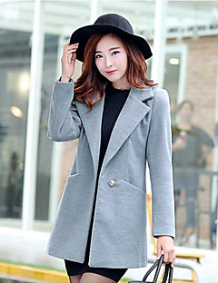 Women's Simple Slim Solid Color Suit Coat