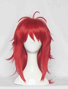GANGSTA Ginger Red Curly Cosplay Wig
