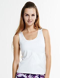 Corrida Blusas Mulheres Sem Mangas Respirável / Compressão / Materiais Leves / Elástico / Macio Elastano / TeryleneIoga / Pilates /