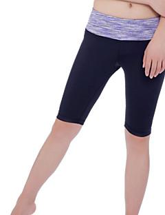 Yoga Pants Fundos Anti-Estático / Antibacteriano / Redutor de Suor / Macio Stretchy Wear Sports Mulheres Iyoga Ioga