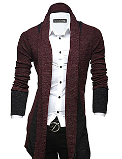Men's European Styel Fashion Personalized Cardigan