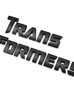 1PC Metal Personality Transformers Car Stickers 3D Sticker Automobile Badge Vehicle Emblem Car Styling