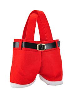 forró eladó divat Karácsony Mikulás nadrág elf szelleme édességet táskák karácsony dekoráció zsák aranyos gyerek ajándékot puha ruhával
