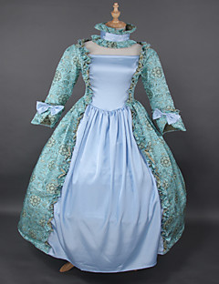 Top SALE Rococo Princess  Printing Lolita Prom Dress Marie Antoinette Dresses Wholesalelolita Floor-lenght Evening Dress