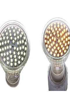 4W GU5.3(MR16) Spot LED MR16 60 SMD 3528 350 lm Blanc Chaud / Blanc Naturel Décorative AC 85-265 V 1 pièce