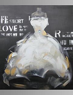 Stillleben / Fantasie / Skurriles / Modern / Romantisch / Pop Art Leinwand drucken Ein Panel Fertig zum Aufhängen , Quadratisch