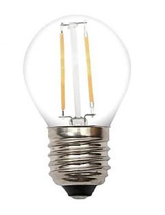 2W E26/E27 LED-glödlampor G45 2 COB 220 lm Varmvit Dekorativ AC 220-240 V