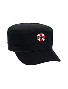 Čepice / klobouk Inspirovaný Cosplay Cosplay Anime a Videohry Cosplay Doplňky Nabírané / Klobouk Czarny Pánský / Dámský