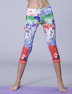 Reine Yoga ® Yoga Corsaire Respirable / Compression / Anti-transpiration Haute élasticité Vêtements de sport Yoga Femme