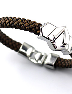 Jewelry Inspired by Assassin's Creed Connor Anime/ Video Games Cosplay Accessories Bracelet Silver Alloy Male