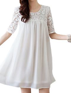 Ženski Haljina Slatko Plus veličineIznad koljena U izrez