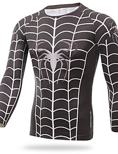 XINTOWN Spider Man T-shirt T-shirt Tiding Fitness Tights