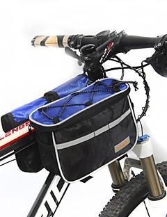 Saco da bicicleta MultifunctionLBolsa para Quadro de Bicicleta Multifuncional Saco de bicicleta Ripstop 600D / Tecido Bolsa de Ciclismo