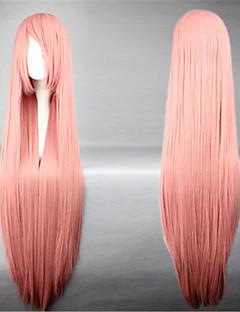 Lolita Wigs Sweet Lolita Princess Extra Long Pink Lolita Wig 100 CM Cosplay Wigs Solid Wig For Women