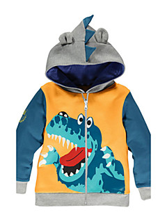 2016 New Spring Autumn Cotton Fabric Baby Boys Jacket Coat Kids Children Clothes With Hooded