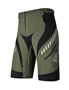NUCKILY® מכנס קצר לרכיבה לגבריםעמיד למים / נושם / ייבוש מהיר / עמיד / עיצוב אנטומי / עמיד אולטרה סגול / חדירות ללחות / מוגן מגשם / רוכסן
