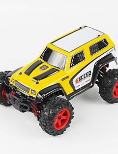 Buggy FQ777 9014 1:24 Bürster Elektromotor RC Car 45KM/H 2.4G Rot / Gelb Fertig zum MitnehmenFerngesteuertes Auto / Fernsteuerung/Sender