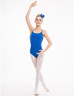 Cotton/Lycra with Mesh Camisole Leotards with Back Hole More Colors for Ladies and Gilrs