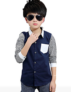 Boy's Cotton Shirt,Spring / Fall Striped