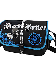 Bag Inspirirana Crna Butler Ciel Phantomhive Anime Cosplay Pribor Bag Crna Nylon Male / Female