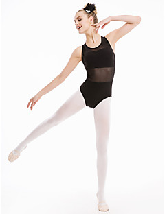 Cotton/Lycra Tank with Mesh Leotards More Colors for Girls and Ladies