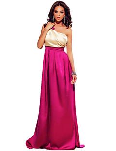 Women's Gorgeous One Shoulder Maxi Prom Dress