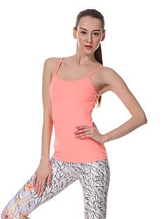 Yokaland ® Ioga tops Secagem Rápida / wicking / Redutor de Suor Stretchy Wear Sports Ioga / Pilates / Fitness Mulheres