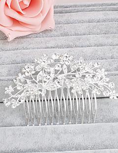 Kadın Yapay Elmas Başlık-Düğün / Özel Anlar / Günlük / Ofis & Kariyer / Dış Mekan Saç Tarakları 1 Parça